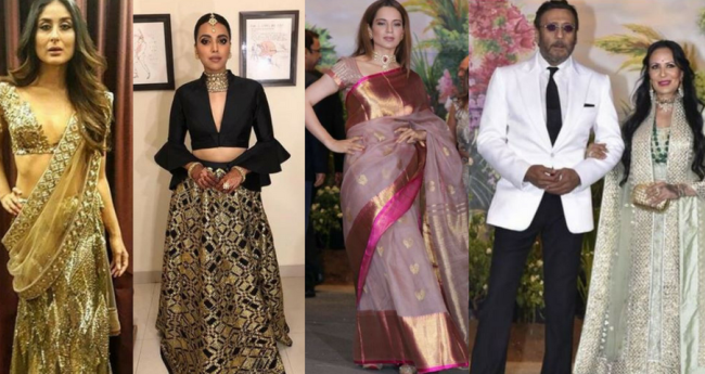 Pics: B-Townies Raise The Glamour Quotient At Sonam-Anand Reception