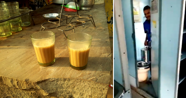 Video: Tea vendors at Railway station, filling tea kettles with water from toilets