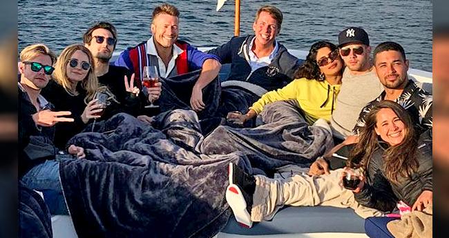 Pics: Something Is Cooking Between Priyanka Chopra And Nick Jonas