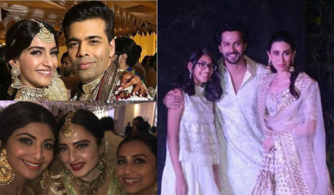 Pics and Videos: The Madness Goes On As Stars Can't Stop Grooving At Sonam-Anand's Sangeet