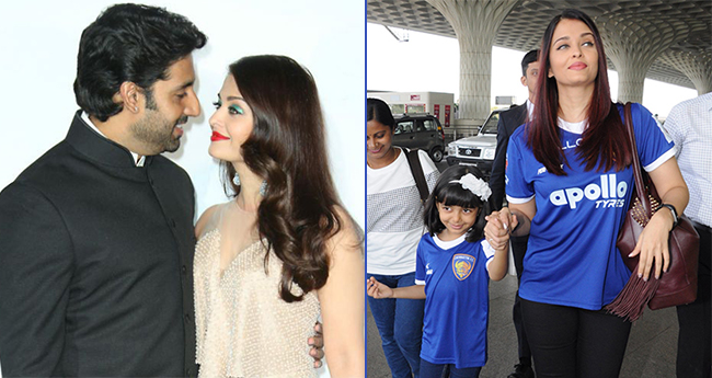 Aishwarya's favourite actor is Abhishek and favourite pastime is spending time with Aaradhya