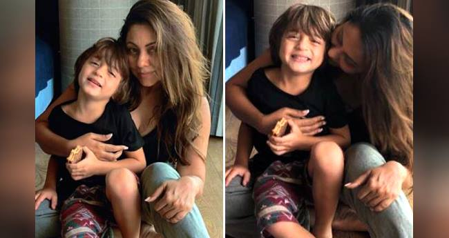 Abram Khan looks adorable in picture shared by mommy Gauri Khan on his 5th birthday