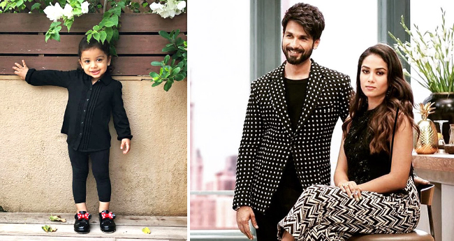 Shahid's Daughter 'Misha' Is Storming Internet With Her Cuteness But Mira Thinks She Is 'Growing Up Too Fast'