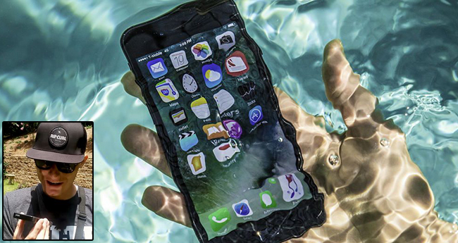 Sea diver founds 'iPhone' from the depth of a river that too in a working condition