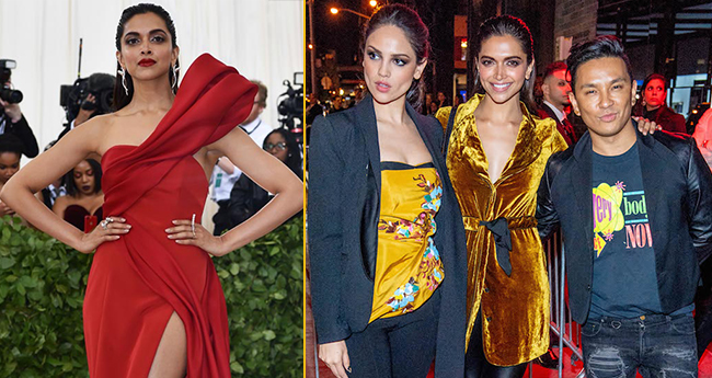 Pics: Deepika Padukone repeats her outfit from Padmavat promotions at the Met Gala after party