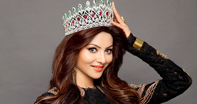 Urvashi Rautela Awarded With The 'Youngest Most Beautiful Woman In The Universe'