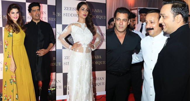 Pics: Salman Khan, Katrina Kaif, Iulia Vantur Spotted In Baba Siddique Iftar Party