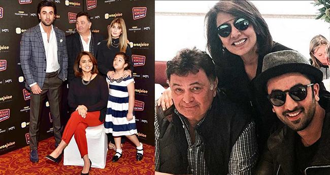 Kapoor family to celebrate Neetu Kapoor's 60th Birthday in Paris