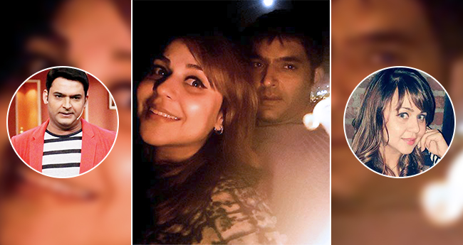 Kapil Sharma and girlfriend Ginni Chatrath off to Greece to enjoy their vacay time