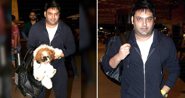 Kapil Sharma Is Back, Spotted At The Airport Flashing A Million Dollar Smile