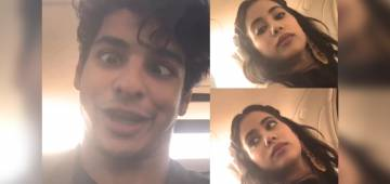 Janhvi and Ishaan Dance On The Recently Launched Song During Dhadak Promotions