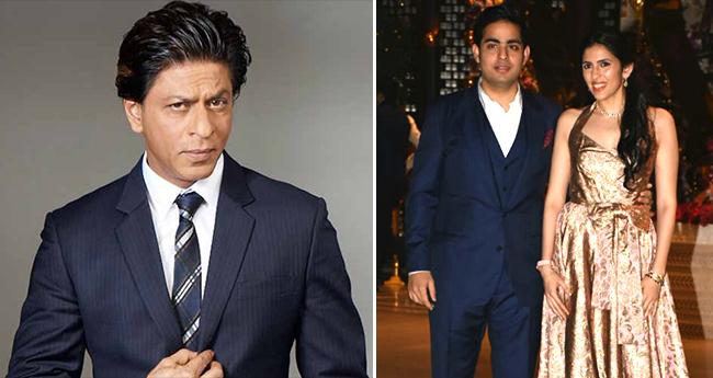 Shah Rukh Khan To Perform On Akash Ambani-Shloka Mehta's Engagement