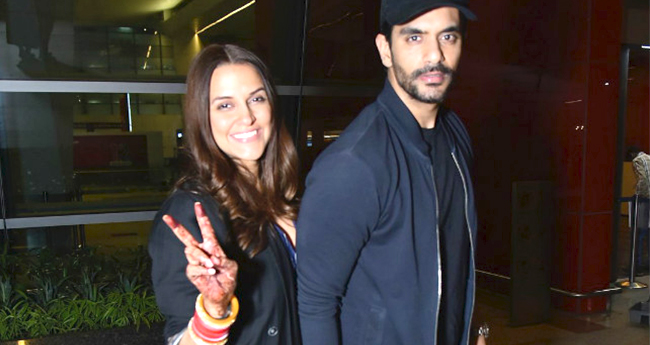 Neha Dhupia and Angad Bedi To Host A Grand Wedding Reception In July