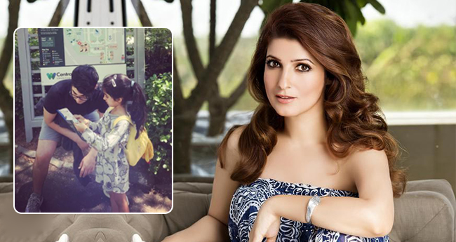 Twinkle Khanna's kids mapping their way in zoo is giving us 'Sibling Goals'