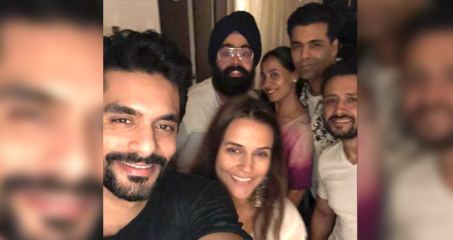 Inside Pics: Newlyweds Neha Dhupia and Angad Bedi Have A Gala Time With Their Besties