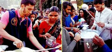Hyderabad Boy Sets Up 'Humanity First' Foundation; Uses pocket money to Feed 1000 Needy People Daily