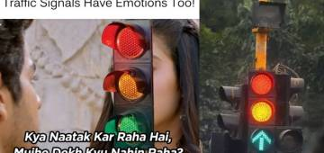 After Race 3, Mumbai Police Uses Dhadak's Dialogue To Create Awareness For Traffic Signal