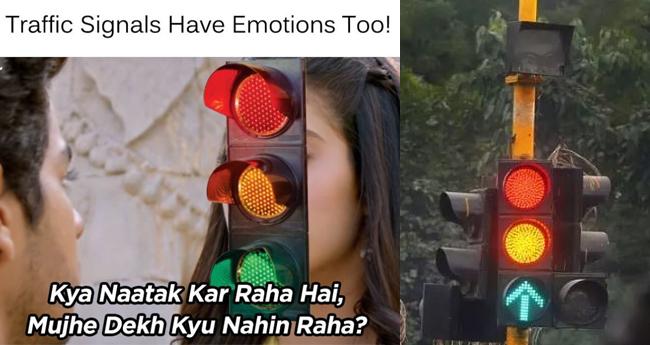 After Race 3, Mumbai Police Uses Dhadak's Dialogue To Create Awareness For Traffic Signal