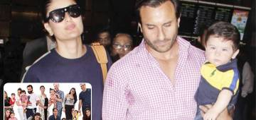 Pic: Kareena Kapoor Khan, Saif Ali Khan and Taimur Ali Khan Posed For His Classroom Photo