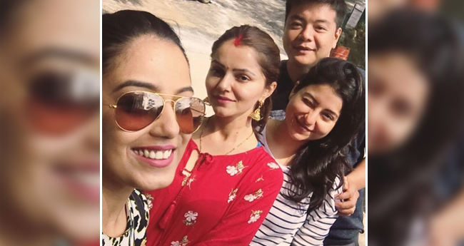 Rubina Dilaik Looks Like A Typical New Bahu In Red, Flaunting Her Sindoor