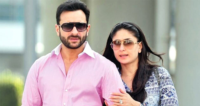 Saif and Kareena are shooting a TV commercial during their vacations in London