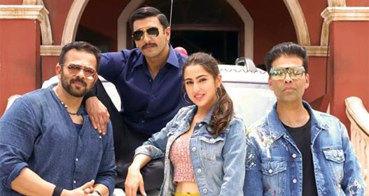 Video: Simmba stars Ranveer Singh and Sara Ali Khan have fun on first day of shoot