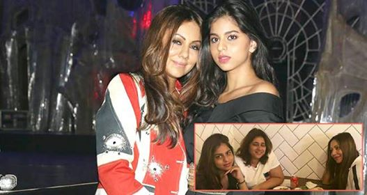 Pics: Suhana Khan Is Having Gala Time With Gauri Khan In London And It Is Adorable