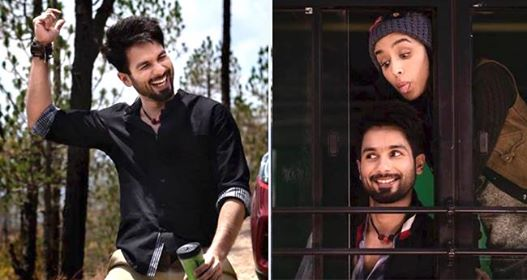 Shahid Kapoor And Shraddha Kapoor Are Having A Gala Time On The Sets Of Batti Gul Meter Chalu