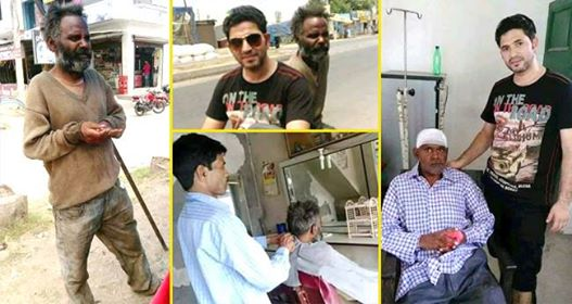 Trust In Humanity Has Been Restored As Pics Of A Man Helping A Beggar Has Gone Viral