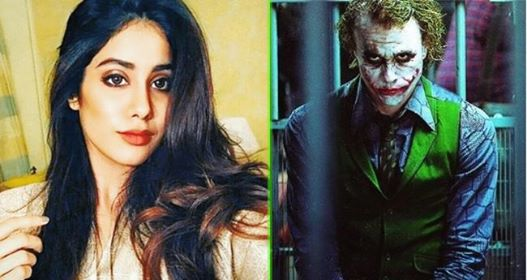 "Janhvi Kapoor says, ""I was Nolan's first choice for The Joker, but had to reject"""