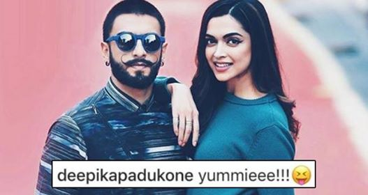 Pic: Deepika Padukone Is Going Crazy Over Ranveer Singh's latest photo