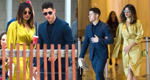 Pics: Priyanka Chopra and Nick Jonas attend his cousin's wedding together