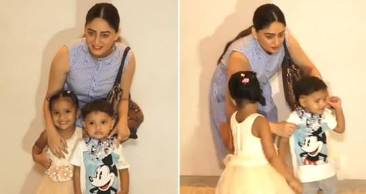 Mahhi Vij's Makes Kids Face Camera Forcefully; People Are Upset With Her Behaviour