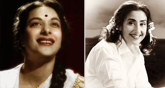 Hard to spot a difference between Manisha Koirala and Nargis Dutt in these pictures