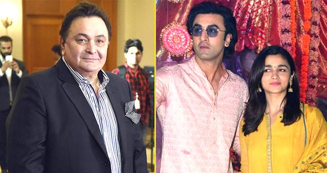 Rishi Kapoor admires Ranbir Kapoor's Girlfriend Alia Bhatt, says she is Lucky and Talented