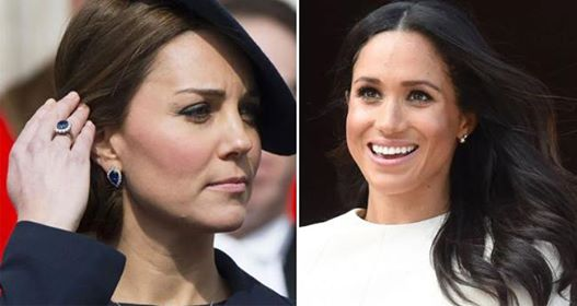 Queen Elizabeth Gifted Meghan Markle Diamond Earrings But Kate Middleton's Gifts Were Stunning