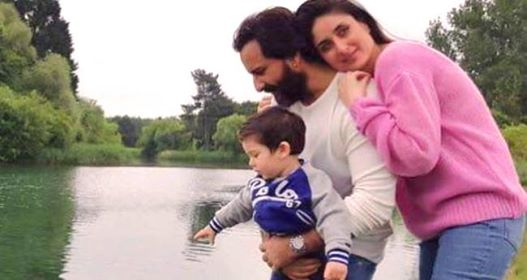 Kareena, Taimur and Saif's Pic From London's Hyde Park Gives Bollyood's Yash Chopra Movie Feel