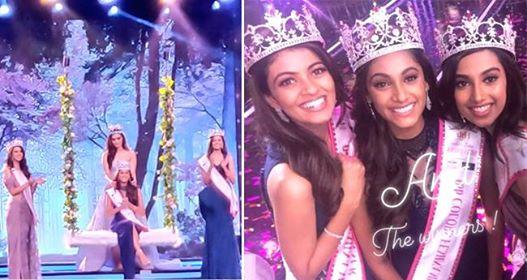 Anukreethy Vas From Tamil Nadu Crowned As The Winner Of Femina Miss India 2018