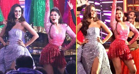 Jacqueline And Manushi Dance on Priyanka's Desi Girl At Femina Miss India And Win Hearts