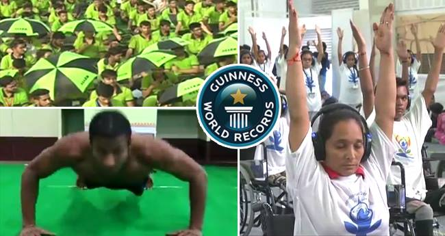 #International Yoga Day: India makes 3 Guinness World Records Today