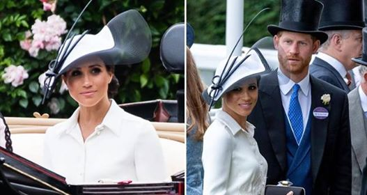 Meghan Markle Did Not Wear A Name Tag to Royal Ascot Like Kate Middleton Always Did
