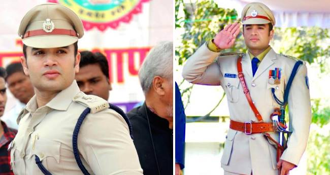 To meet the handsome IPS officer, a lady fan travels from Punjab to