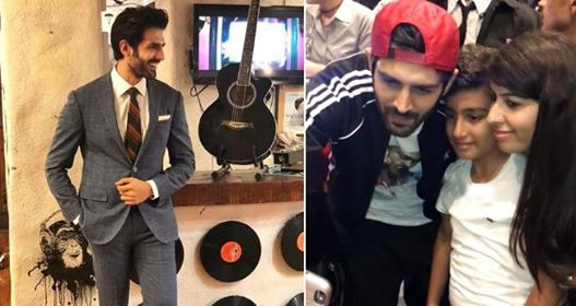 Video: Kartik Aaryan Stepped Out Of His Car When He Saw A Young Fan Crying For A Selfie
