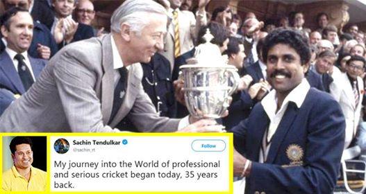 Sachin Tendulkar Gets Nostalgic As He Shares Pics Of His Cricket Journey, 35 Years Ago