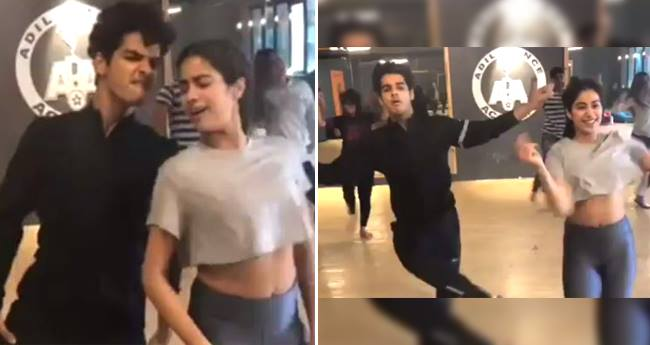 Jahnvi and Ishaan look more energetic in Dance Rehearsals than in Zingaat song