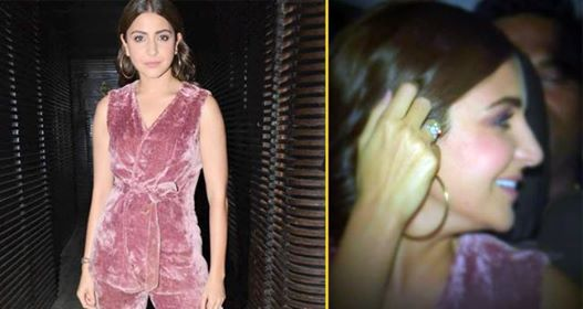 Anushka Sharma Flaunted Her Expensive Ring In Rose Pink Velvet Suit At Anand L Rai's Birthday Bash