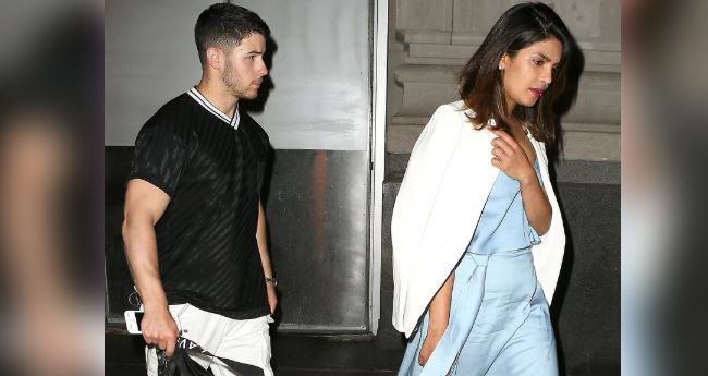 Pics: Nick Jonas-Priyanka Chopra Were Out On A Date Night In New York