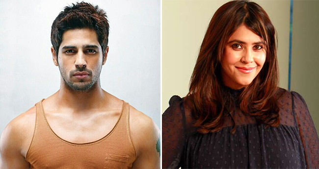 Ekta Kapoor Kickstarts Ek Villain 2, Again Featuring Sidharth Malhotra In The Lead