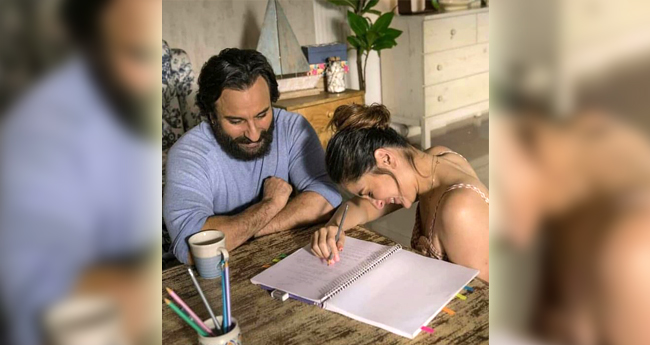Pics: Kareena Kapoor Khan and Saif Ali Khan Are Totally In L-O-V-E In Their Latest Ad Shoot