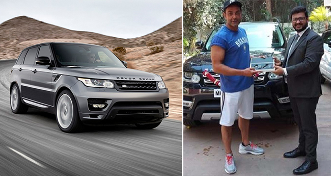 Bobby Deol Has Got A New Baby In His Garage Range Rover Sport Which Costs A Bomb